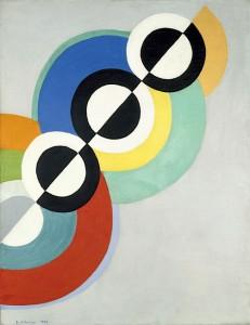 Robert Delaunay, Rythmes, 1934 © Centre Pompidou, MNAM-CCI Photo : Jacqueline Hyde