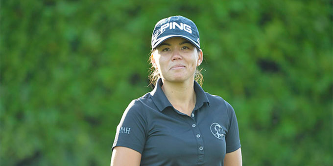 Isabelle Boineau - Photo : © FFgolf