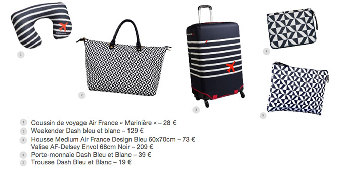air france shopping d voile sa collection de voyage. Black Bedroom Furniture Sets. Home Design Ideas