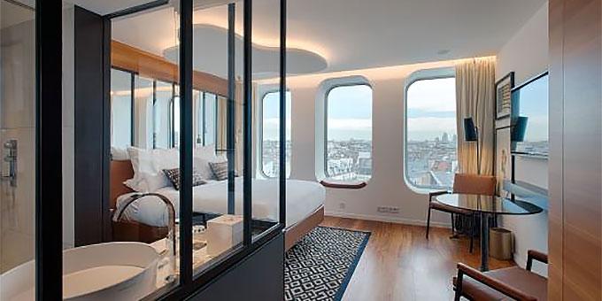 les h tels renaissance inaugurent leurs nouvel h tel paris r publique swing f minin. Black Bedroom Furniture Sets. Home Design Ideas