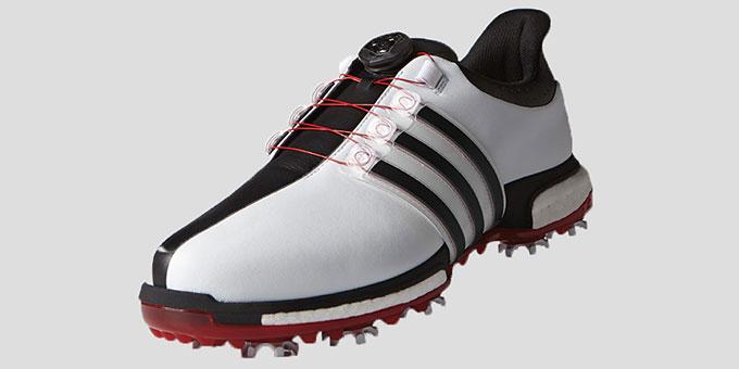 detailed look 0d01b a5008 Footjoy et Adidas équipent leurs chaussures avec le système