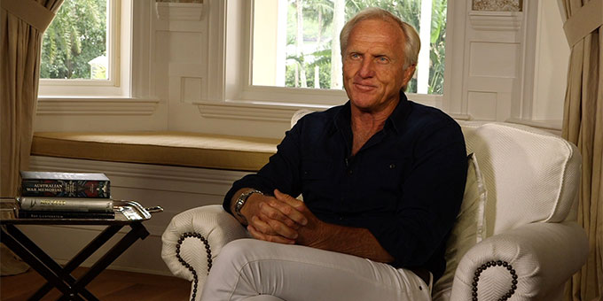 Greg Norman - Photo : D.R.