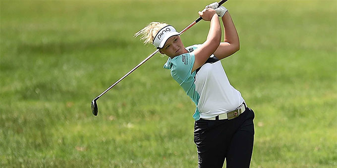 Golf LPGA: la Canadienne Brooke Henderson remporte son 4e titre