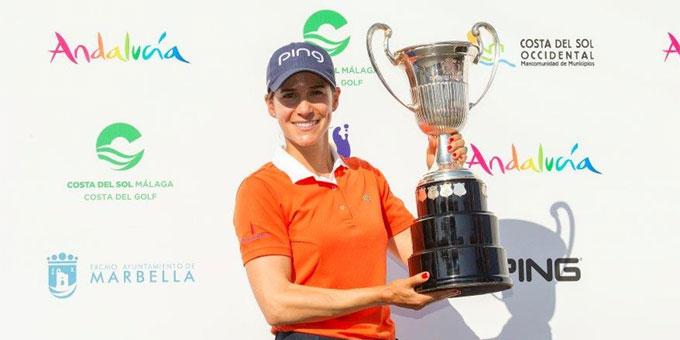 LET : Azahara Muñoz vise son 3ème titre à l'Andalucía Costa del Sol Open de España