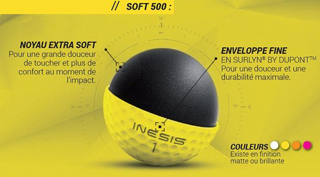 Nouveauté Inesis : une gamme de 3 balles pensée pour tous les golfeurs