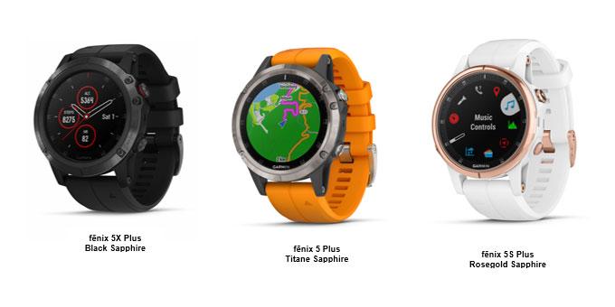 Nouvelle Garmin fēnix 5 Plus : cartographie, Pulse Ox, paiement sans contact et musique intégrés