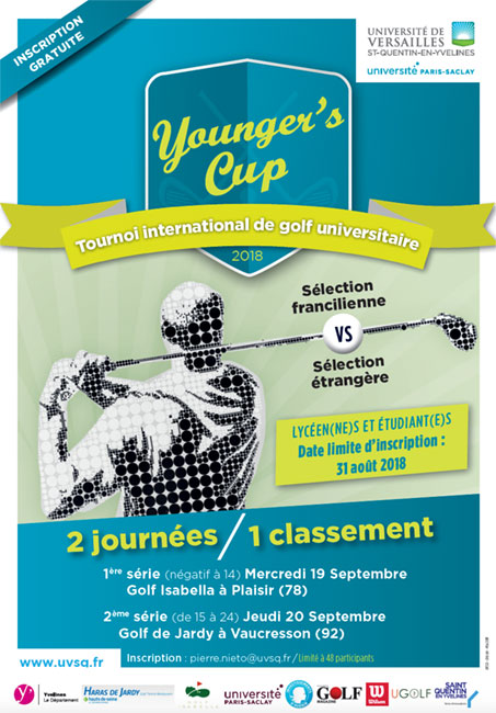 L'UVSQ organise la Younger's Cup, son tournoi de golf étudiant international