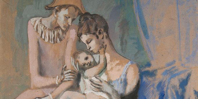 Le jeune Picasso : La période bleue et rose