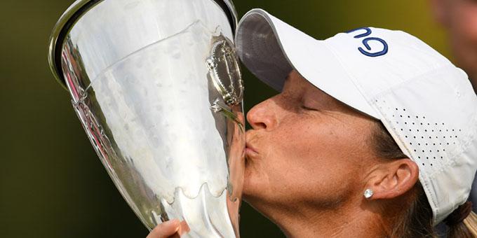 Evian Championship : L'Américaine Angela Stanford remporte son 1er Majeur à 40 ans