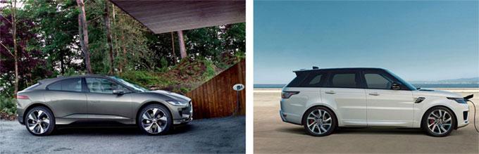 Jaguar Land Rover célèbre le passé, le présent et l'avenir au mondial de l'auto de Paris