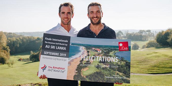 Amateur World Golf Cup : l'équipe de France 2019 dévoilée !