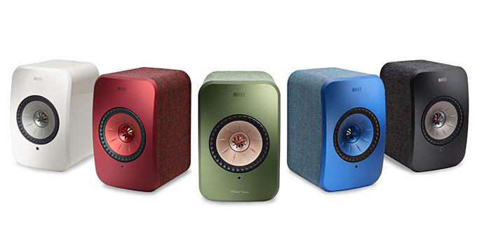KEF présente LSX - une chaîne 100% stéréo, dotée d'un système audio musical sans fil
