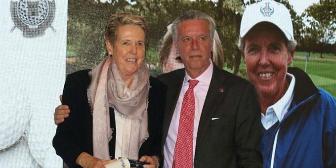 Marta Figueras-Dotti, présidente du LET, récompensée pour sa carrière exemplaire