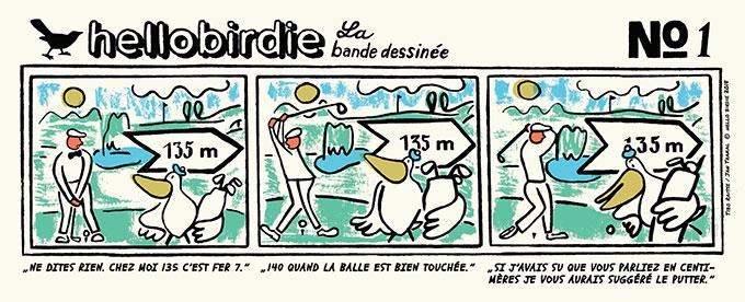 Hello Birdie : le meilleur caddie du monde dans votre poche