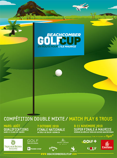 Swing Féminin, partenaire de la Beachcomber Golf Cup !