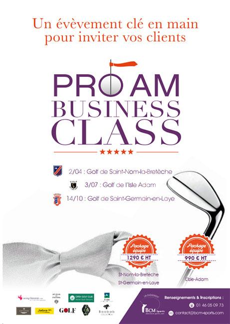 7ème édition des Pro Am Business Class