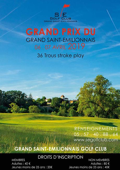 Grand Prix du Grand Saint Emilionnais Golf Club