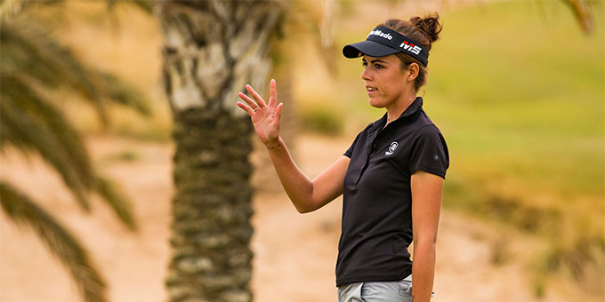 Meghan MacLaren, héroïne du Jordan Mixed Open