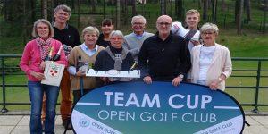 Inauguration de la TEAM CUP Open Golf Club au golf d'Hardelot (62)