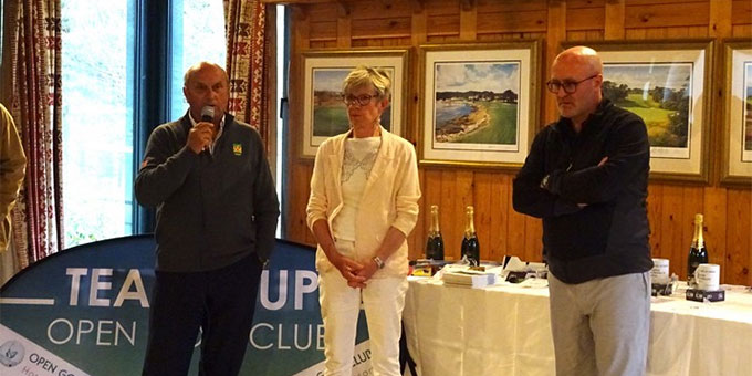 Inauguration de la TEAM CUP Open Golf Club au golf d'Hardelot (62)