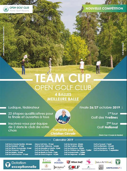 TEAM CUP Open Golf Club au golf De Nîmes Vacquerolles (30)