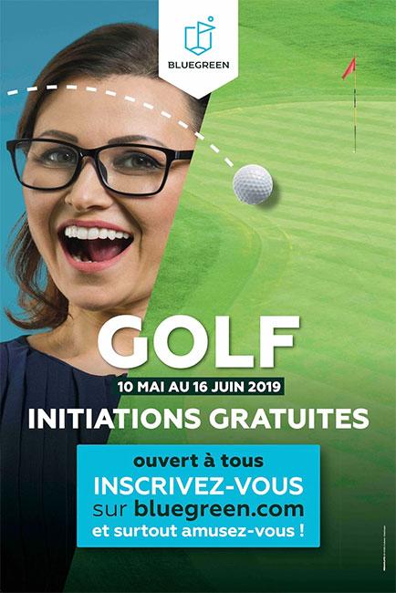 Bluegreen : les initiations gratuites au golf font leur retour !