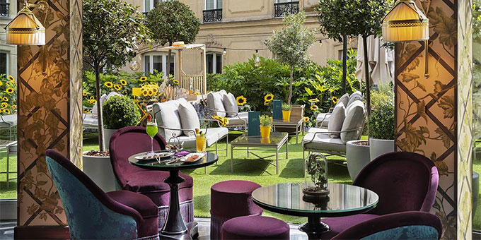 Le Fouquet's Paris - Nouvelle décoration du restaurant Le Joy - ©Groupe Barrière