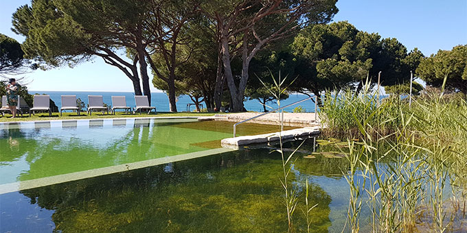 Piscine zen et naturelle du Club Med Club Med Da Balaia