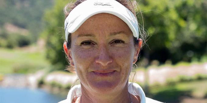 Gwladys Nocera à l'US Women's Open 2016