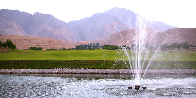 Sultanat d'Oman - Le Ghala Valley Golf