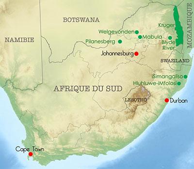 Les drives d'Afrique du Sud : Voyages Golfissimes met l'Afrique du Sud à portée de drive !
