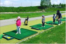 Les joueurs professionnels du Meribel Golf Pro Am 2019