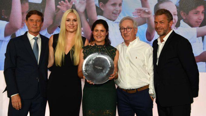 Lorena Ochoa distinguée par The Evian Championship Prize for a Better Tomorrow presented by Rolex