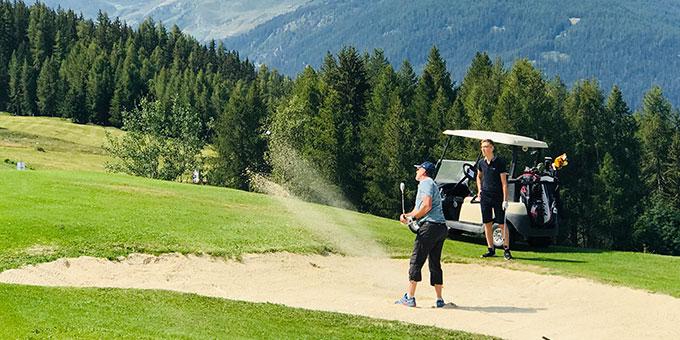 Le golf des Arcs : un golf de montagne mais pas que !
