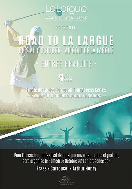 La Largue (finale du LETAS) : nouvelles dates