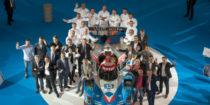 les Pilotes et les Chefs lors du salon de l Auto Lyonnais en 2017