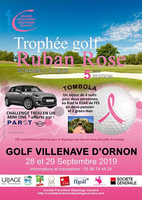 Finale des Trophées Golf du Ruban Rose