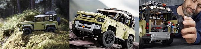 Nouveau Land Rover Defender : une icône stylistique réinventée