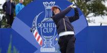 Céline Boutier, la rookie star de la Solheim Cup 2019