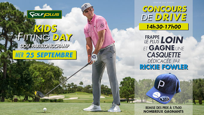 Golf Plus Kids Fitting Day, 1ère édition