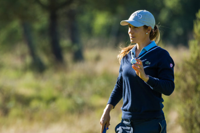Lacoste Ladies Open de France, Azahara Munoz lors du premier tour