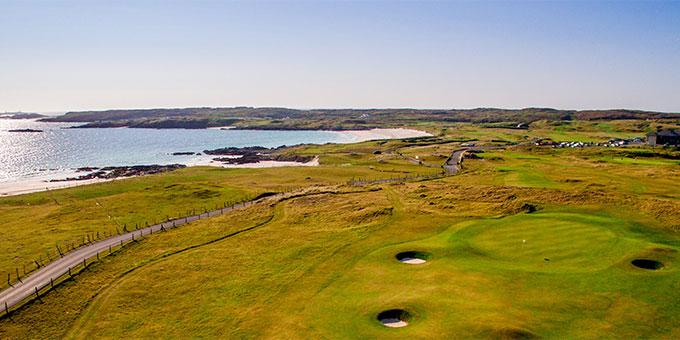 Là-bas au Connemara… - Connemara Championship Golf Links