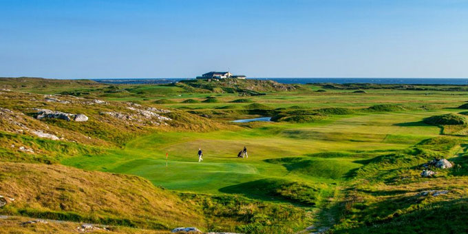 Là-bas au Connemara… - Connemara Championship Golf Links
