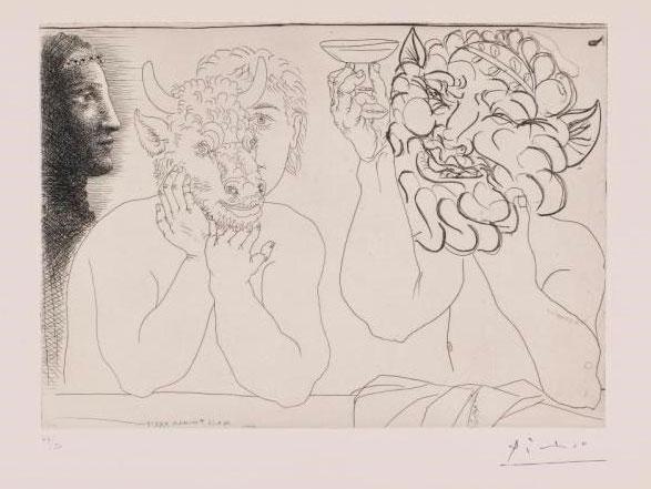 Exposition « La caisse à remords, Picasso graveur »