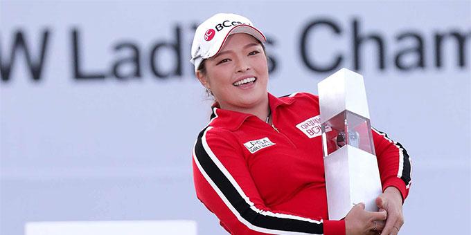 LPGA : Ha Na Jang s'impose, Kang manque le doublé