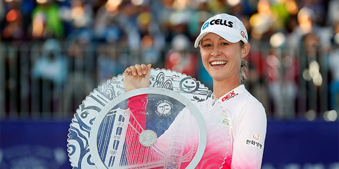 Nelly Korda, championne en titre, remporte le Taiwan Swinging Skirts LPGA en playoff