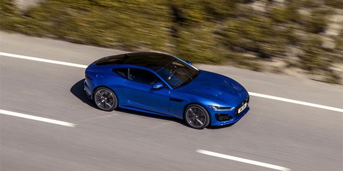 La nouvelle Jaguar F-TYPE : Plaisir décuplé