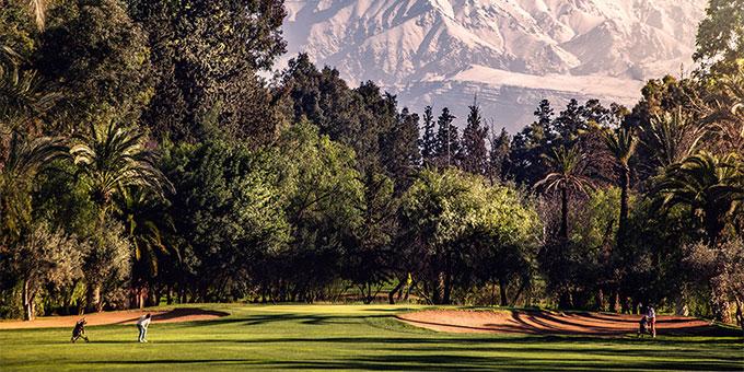 Marrakech, le golf en capitale_Royal Golf