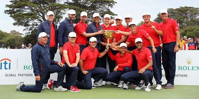Presidents Cup : Tiger Woods mène l'équipe américaine à la victoire