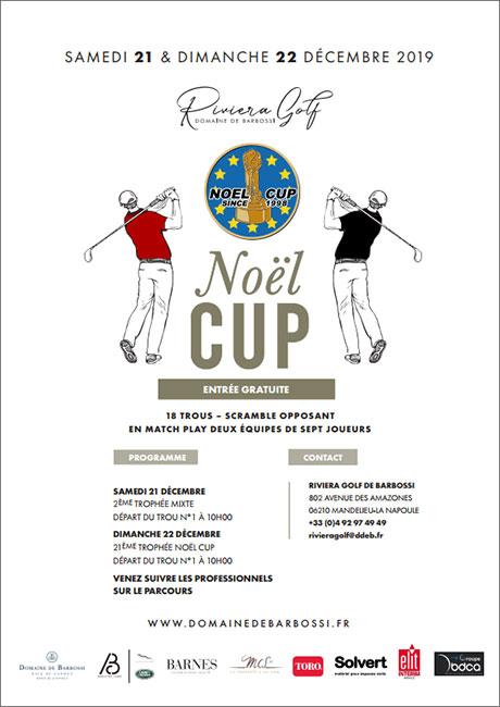 Noel Cup : les 21 & 22 décembre au Riviera Golf de Barbossi